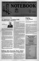 October 1988 - San Francisco Police Officers Association