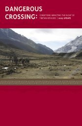 download the report - International Campaign for Tibet