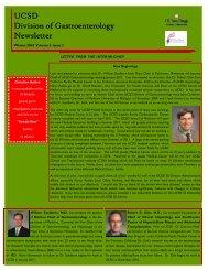 Winter Newsletter 2010.pub - University of California San Diego ...