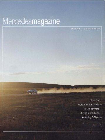Mercedesmagazine - andreas tesch