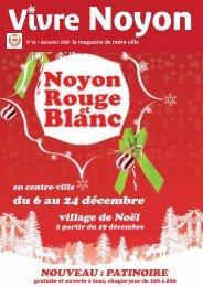 décembre 2009 / Vivre Noyon N°18 - Ville de Noyon