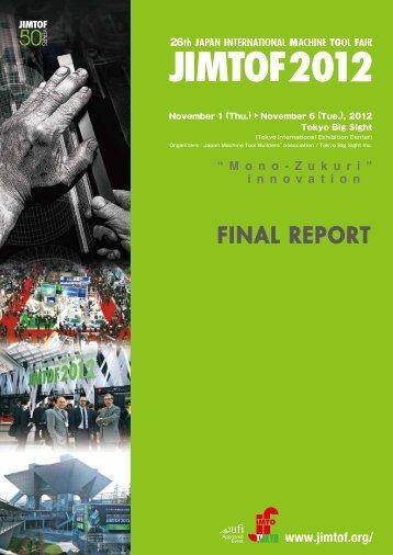 JIMTOF2012 Final Report