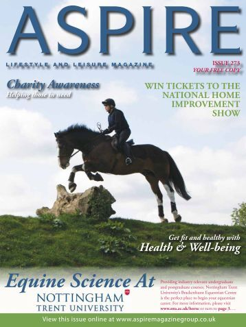 Equine Science At - Aspire Magazine