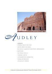 jordan & jerusalem group tour october 2013 - Audley Travel