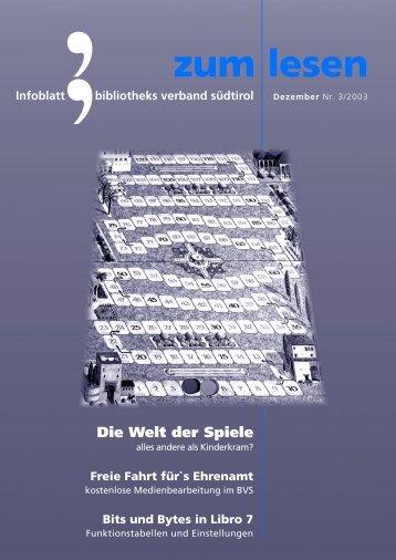 neue - Bibliotheksverband Südtirol