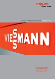 Domestic Product Guide - Viessmann