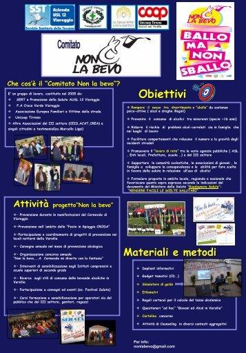 Obiettivi - 5a Conferenza nazionale sulle droghe