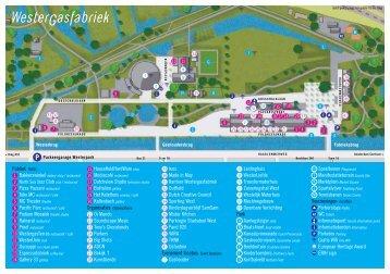 Plattegrond Cultuurpark Westergasfabriek (pdf)