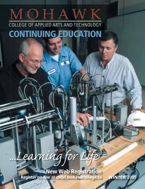 Mohawk College Winter 2005 Continuing Education Catalogue