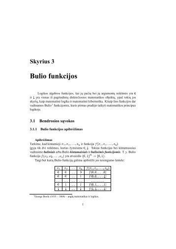 Skyrius 3 Bulio funkcijos - techmat.vgtu.lt