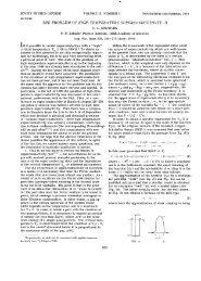 The Problem of High-Temperature Superconductivity, II - Turpion Ltd.