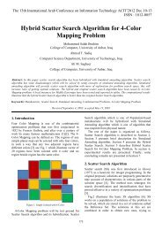 Hybrid Scatter Search Algorithm for 4-Color Mapping Problem - ACIT