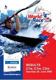 World Ranking Series - results.cz