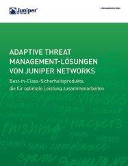 Juniper Threat Management Lösungen