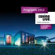 Programm 2012 - Spielbanken Bayern