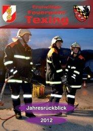 Jahresrückblick 2012 - FF Texing