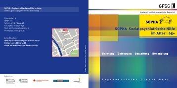 SOPHA Sozialpsychiatrische Hilfe im Alter | 65+ - Gesellschaft zur ...