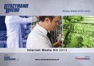 Internet Media Kit 2013 - Utrzymanie Ruchu