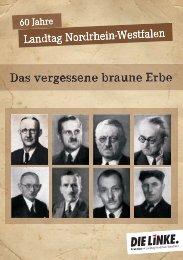 Das vergessene braune Erbe - Sagel, Rüdiger (Die Linke)