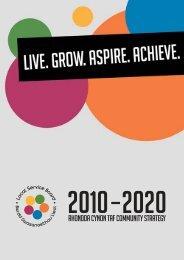 Community Strategy 2010 - Rhondda Cynon Taf