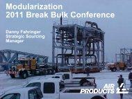 Modularization 2011 Break Bulk Conference