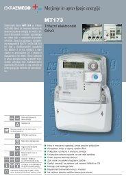 Merjenje in upravljanje energije MT173 - Iskraemeco