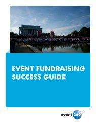 EVENT FUNDRAISING SUCCESS GUIDE - Event 360
