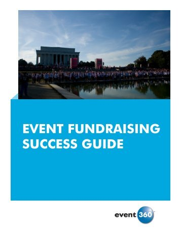 EVENT FUNDRAISING SUCCESS GUIDE - Event 360