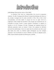 documents - Pistes