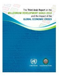 Third Arab report on.. - Economic and Social Commission for ...