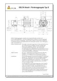 DELTA Heizöl - Förderaggregate Typ S - tetec thermo-technik Müller ...