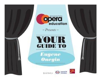 Eugene Onegin - Edmonton Opera