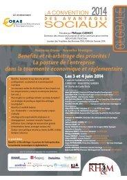 convention-annuelle-des-avantages-sociaux-2014