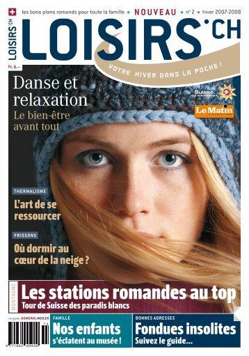 NE Les stations romandes au top - Loisirs.ch