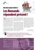 NE Les stations romandes au top - Loisirs.ch - Page 3