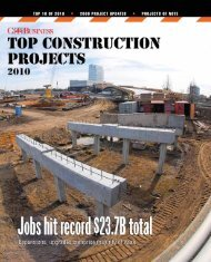 TOP 10 OF 2010 • 2009 PROJECT UPDATES • PROJECTS OF NOTE