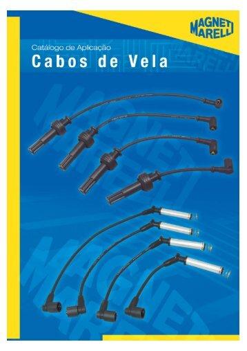 catalogo cabos de vela - Cofap