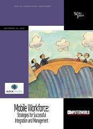 Mobile Workforce: - Computerworld