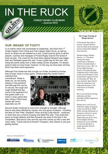 Forest Rugby Club Senior Newsletter - Issue 2.pdf