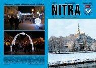 Centrum mesta skrášlila nová výzdoba - Mesto Nitra