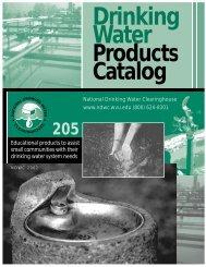 DrinkingWater ProductsCatalog - National Environmental Services ...