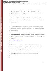 1 Resistant Enterobacteriaceae (CRE) - Journal of Clinical ...