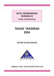Nota Penerangan B 2004 - Lembaga Hasil Dalam Negeri