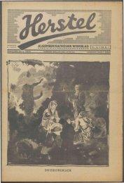 Herstel (1940) nr. 1 - Vakbeweging in de oorlog