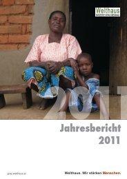 Jahresbericht 2011 - Welthaus Graz
