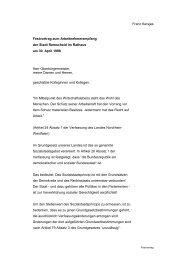 Franz Kersjes Festvortrag zum ... - Welt der Arbeit