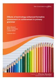 Effects of technology-enhanced formative ... - University of York