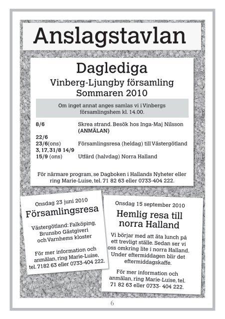 Anna Karin - Vinberg-Ljungby pastorat