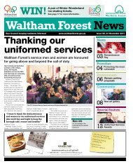 Issue 55: Thanking our uniformed services - Waltham Forest Council