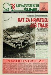 HRVATSKE ŠUME 4 (6.7.1992)